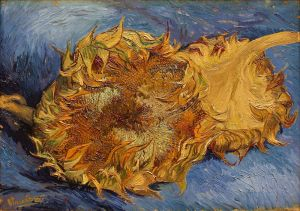 """Sunflowers."" 1887. Metropolitan Museum of Art."