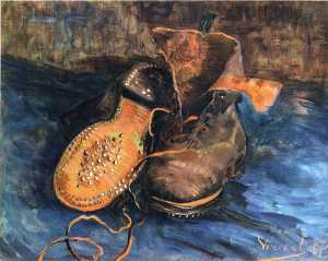 """A Pair of Shoes."" 1887. Baltimore Museum of Art."
